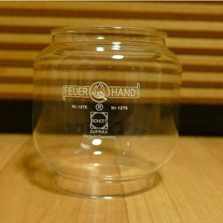 ペトロマックス(Petromax)のフュアーハンド ベイビースペシャル 276 グローブ クリア ガラス 新品(ライト/ランタン)