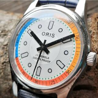 オリス(ORIS)の【美品!】●オリスORIS手巻き機械式ヴィンテージ1980年代!.(腕時計(アナログ))