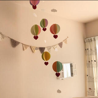 気球モビール(オルゴールメリー/モービル)