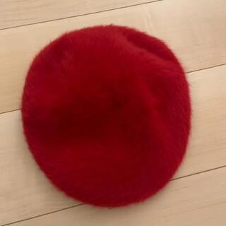 カンゴール(KANGOL)のモヘアファー ハンチング帽 KANGOL(ハンチング/ベレー帽)
