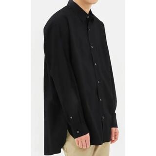 オーバーサイズシャツ LL ブラック(シャツ)