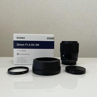 SIGMA - SIGMA Contemporary 30mm F1.4 DC DN おまけ付き