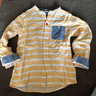 バックナンバー(BACK NUMBER)の男女兼用 ボーダーシャツ パーカー130(Tシャツ/カットソー)