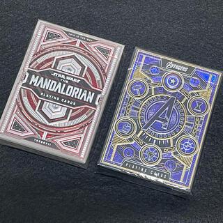 ディズニー(Disney)のMandalorian & Avengers Playing Cards set(トランプ/UNO)