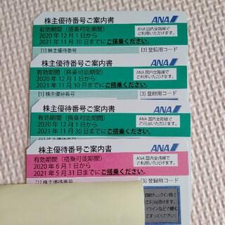 エーエヌエー(ゼンニッポンクウユ)(ANA(全日本空輸))の■専用■ANA 株主優待(航空券)