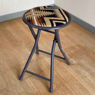 【大人気】【椅子】【丸椅子】【スツール】PENDLETON ペンドルトン!!!(折り畳みイス)