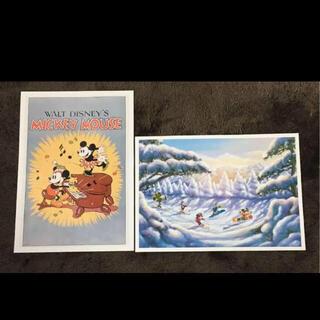 ディズニー(Disney)の◉読売新聞2017年額絵シリーズディズニーキャラクターアートコレクション(ポスター)
