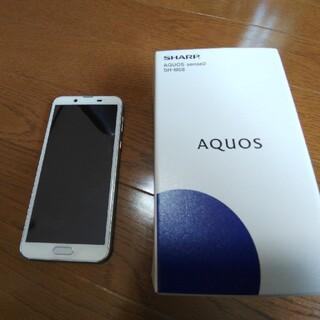 アクオス(AQUOS)のAQUOS sense2 lite SH-M08 ホワイトシルバー(スマートフォン本体)
