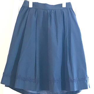 レストローズ(L'EST ROSE)の新品 レストローズ ネイビースカート MT(ひざ丈スカート)