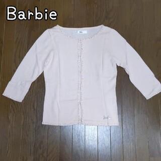 バービー(Barbie)のBarbie サマーカーディガン 七分袖 M(カーディガン)