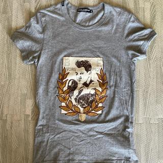 ドルチェアンドガッバーナ(DOLCE&GABBANA)の最終値下!ドルチェ&ガッバーナ T shirt 色 グレー size44(Tシャツ/カットソー(半袖/袖なし))