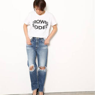 ロデオクラウンズワイドボウル(RODEO CROWNS WIDE BOWL)のロデオクラウンズ ダメージデニム(デニム/ジーンズ)