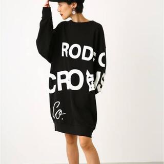 ロデオクラウンズワイドボウル(RODEO CROWNS WIDE BOWL)のロデオクラウンズ WEB限定ワンピース(ひざ丈ワンピース)