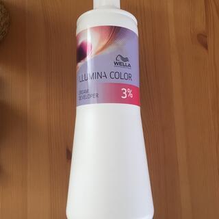 ウエラ(WELLA)のイルミナクリームディベロッパー3% 1000ml(カラーリング剤)