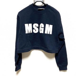 エムエスジイエム(MSGM)のエムエスジィエム サイズS レディース(トレーナー/スウェット)