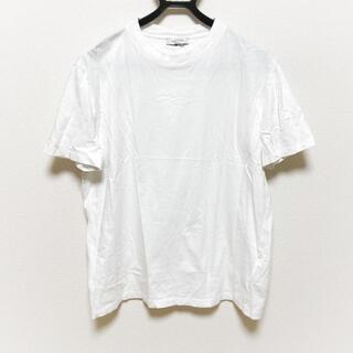 ヴァレンティノ(VALENTINO)のバレンチノ サイズL メンズ - 白(Tシャツ/カットソー(半袖/袖なし))