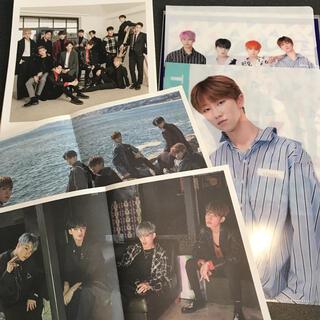セブンティーン(SEVENTEEN)のSEVENTEEN クリアファイル カレンダー ミニポスター(K-POP/アジア)