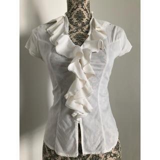 ナラカミーチェ(NARACAMICIE)のナラカミーチェブラウス 半袖 0サイズ オフホワイト(シャツ/ブラウス(半袖/袖なし))