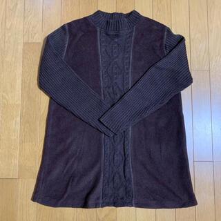 Muffinbell ニットセーター ブラウン 茶色 レディース トップス 長袖(その他)