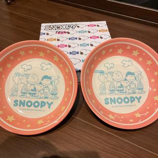 スヌーピー(SNOOPY)のパスタ皿(スヌーピー)&エコバック(食器)