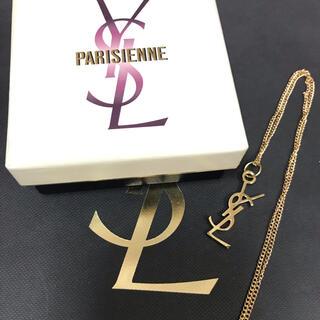 サンローラン(Saint Laurent)のイヴサンローラン ysl ゴールドカラーネックレス 新品未使用品 BTS(ネックレス)