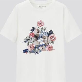 ポールアンドジョー(PAUL & JOE)のユニクロ×ポール&ジョー/ネコTシャツ/S(Tシャツ(半袖/袖なし))