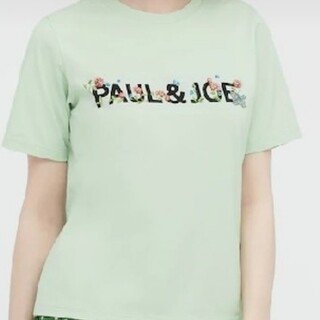 ユニクロ(UNIQLO)のユニクロ☆ポール&ジョーTシャツグリーンXL(Tシャツ(半袖/袖なし))