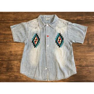 BREEZE - BREEZE  タンガリーシャツ