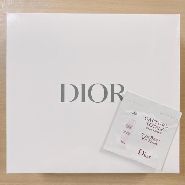 Christian Dior(クリスチャンディオール)のDior ディオール ノベルティ ヘアバンド 巾着 ポーチ タオル アイ セラム エンタメ/ホビーのコレクション(ノベルティグッズ)の商品写真