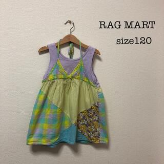 ラグマート(RAG MART)のRAG MART☆size120☆チュニック(Tシャツ/カットソー)