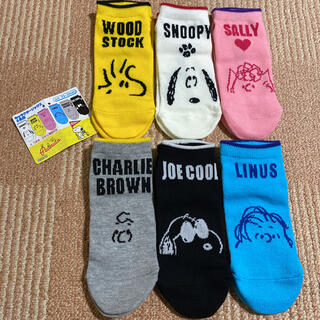 SNOOPY - タイムSALE❣️【新品】⭐️SNOOPY 靴下 6足セット⭐️