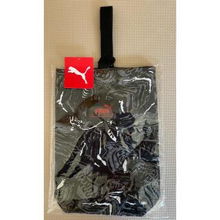 プーマ(PUMA)のプーマ シューズバック 上履き(体育館履き)入れ 黒(シューズバッグ)
