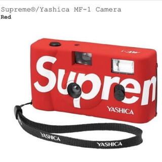 シュプリーム(Supreme)のSupreme Yashica MF-1 Camera Red シュプリーム(フィルムカメラ)