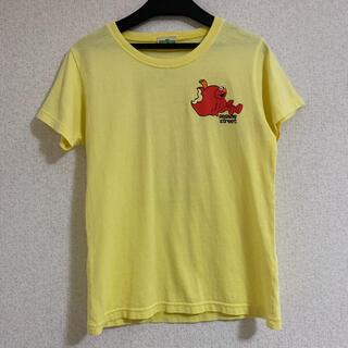セサミストリート(SESAME STREET)のセサミストリート Tシャツ 黄色(Tシャツ/カットソー)