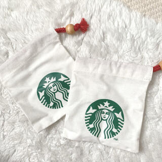 Starbucks Coffee - スタバ 巾着袋 2枚セット