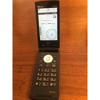 京セラ - ⭐️au ガラケー 携帯 京セラ E10k ⭐️