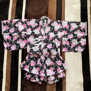 シマムラ(しまむら)の甚平浴衣 120 女の子(甚平/浴衣)