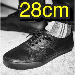 VANS - vans authentic leather 28cm