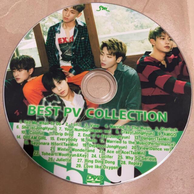SHINee(シャイニー)のSHINee BEST PV COLLECTION DVD エンタメ/ホビーのDVD/ブルーレイ(ミュージック)の商品写真
