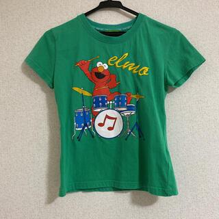 セサミストリート(SESAME STREET)のセサミストリート Tシャツ 緑(Tシャツ(半袖/袖なし))