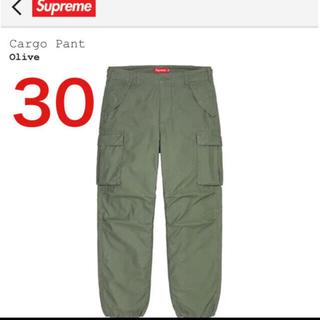 Supreme - 新品 21ss supreme cargo pant olive 30 カーゴ