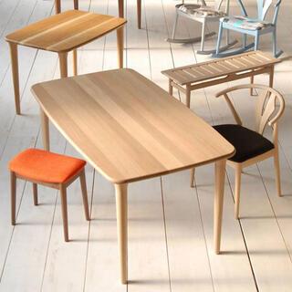 アクタス(ACTUS)の飛騨高山 日進木工 coty コティ ダイニングテーブル 北欧家具(ダイニングテーブル)