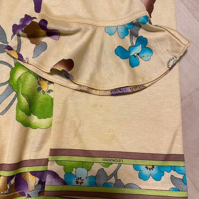 LEONARD(レオナール)のLEONARD トップス 長袖 花柄 レディースのトップス(カットソー(長袖/七分))の商品写真