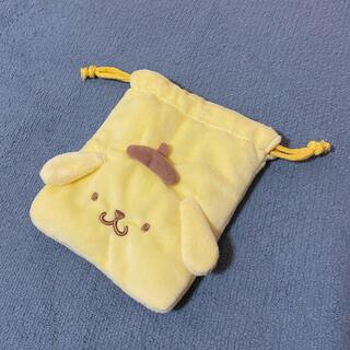 ポムポムプリン(ポムポムプリン)のポムポムプリン サンリオ 巾着 新品未使用☆(ポーチ)