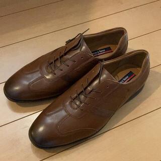 asics - 未使用 箱なし テクシーリュクス 革靴 TU-7746S ブラウン26cm