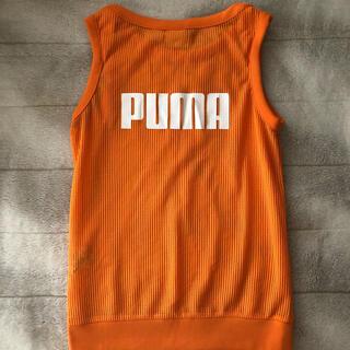 プーマ(PUMA)のPUMA メッシュ タンクトップ(タンクトップ)