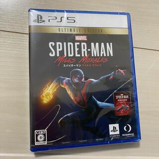 ソニー(SONY)の新品未開封 PS5 スパイダーマン(家庭用ゲームソフト)