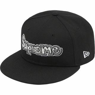 シュプリーム(Supreme)の黒 7 5/8 Supreme Gonz Logo New Era ゴンズ 新品(キャップ)