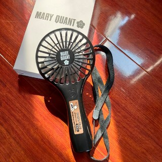 マリークワント(MARY QUANT)のMARY QUANT/ハンディファン(リチウム電池内蔵)(扇風機)