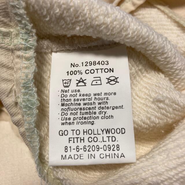 GO TO HOLLYWOOD(ゴートゥーハリウッド)の未使用 GO TO HOLLYWOOD プルオーバー キッズ/ベビー/マタニティのキッズ服女の子用(90cm~)(Tシャツ/カットソー)の商品写真